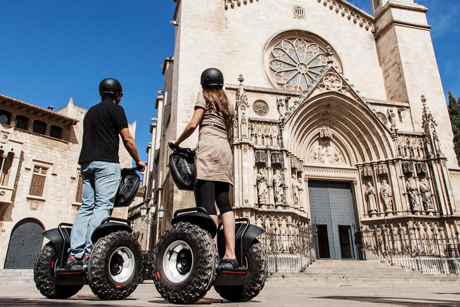 Vilafranca, Wine Capital, by Segway