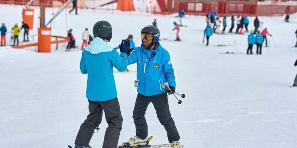 Monitores de esquí