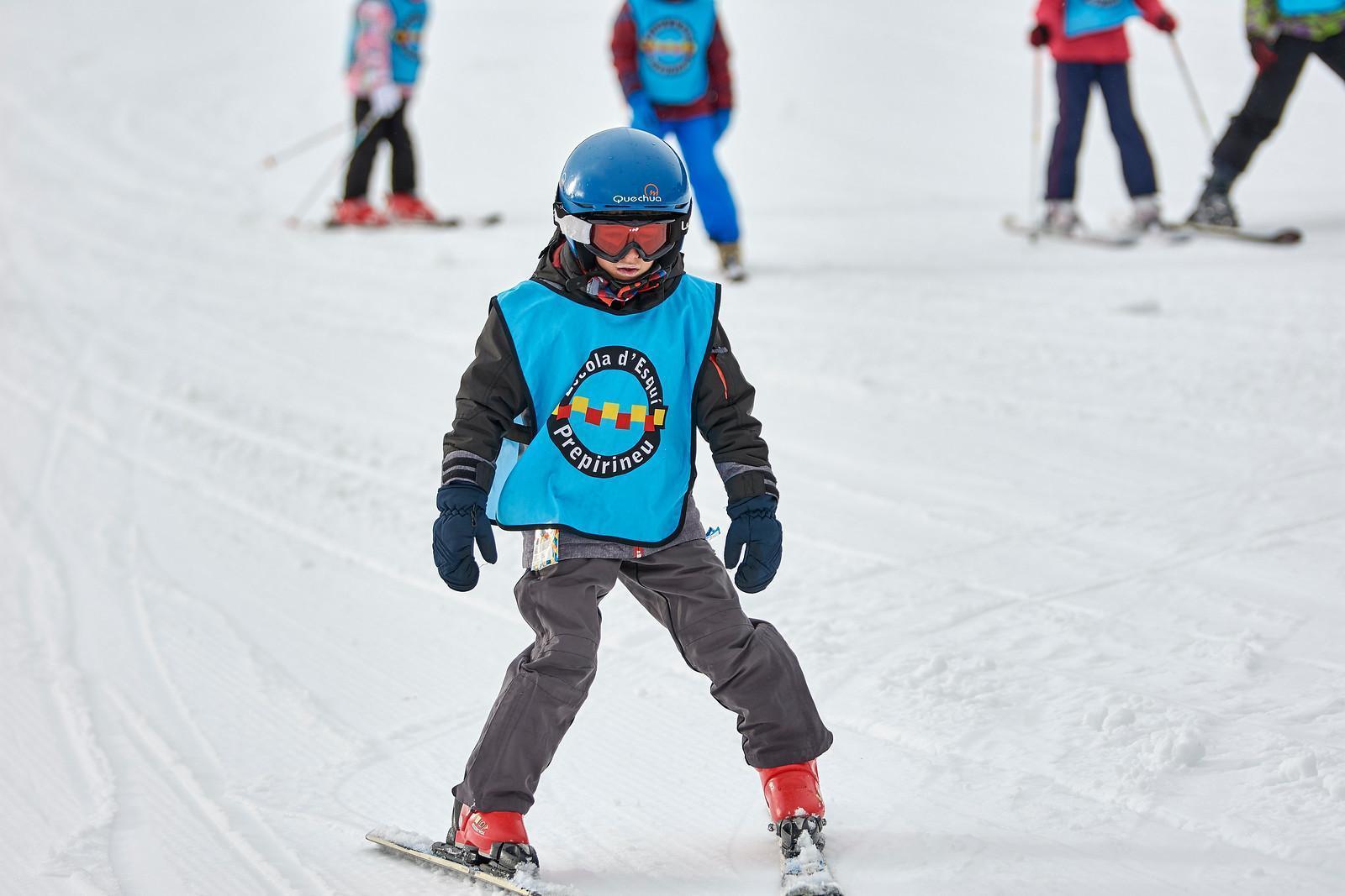 Bautizo de esquí (de 4 a 6 años) en Tavascan