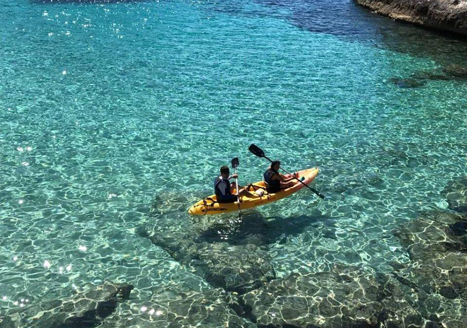 Ruta guiada Open Kayak / Paddle Surf a Tamarit 1/2 dia