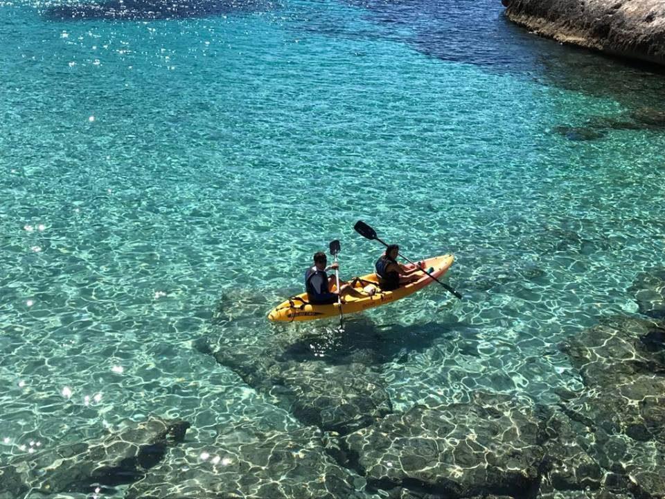 Ruta guiada Open Kayak o Paddle Surf 1/2 dia