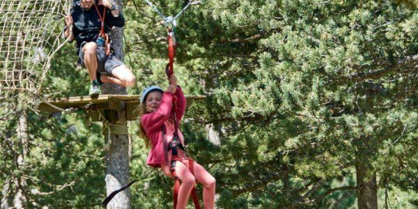 Espai acrobàtic aventura- Port del Comte