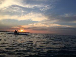 Sunrise kayak-esportec