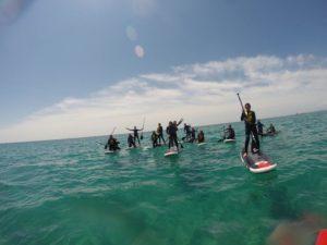Route guidée Sunset Kayak & Paddle Surf à Tamarit