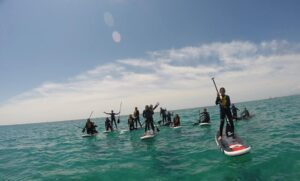 Ruta guiada Sunset Kayak & Paddle Surf a Tamarit
