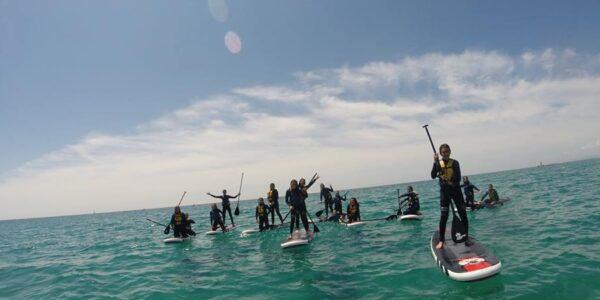 Ruta guiada Sunset Kayak & Paddle Surf a Tamarit