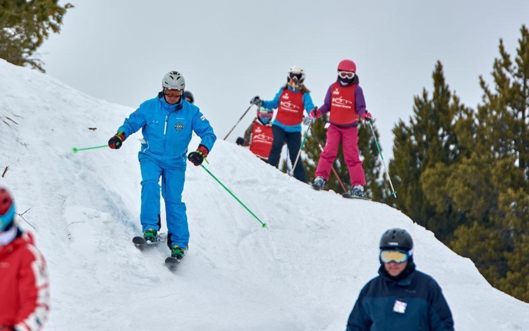Actividades de esquí con Esportec