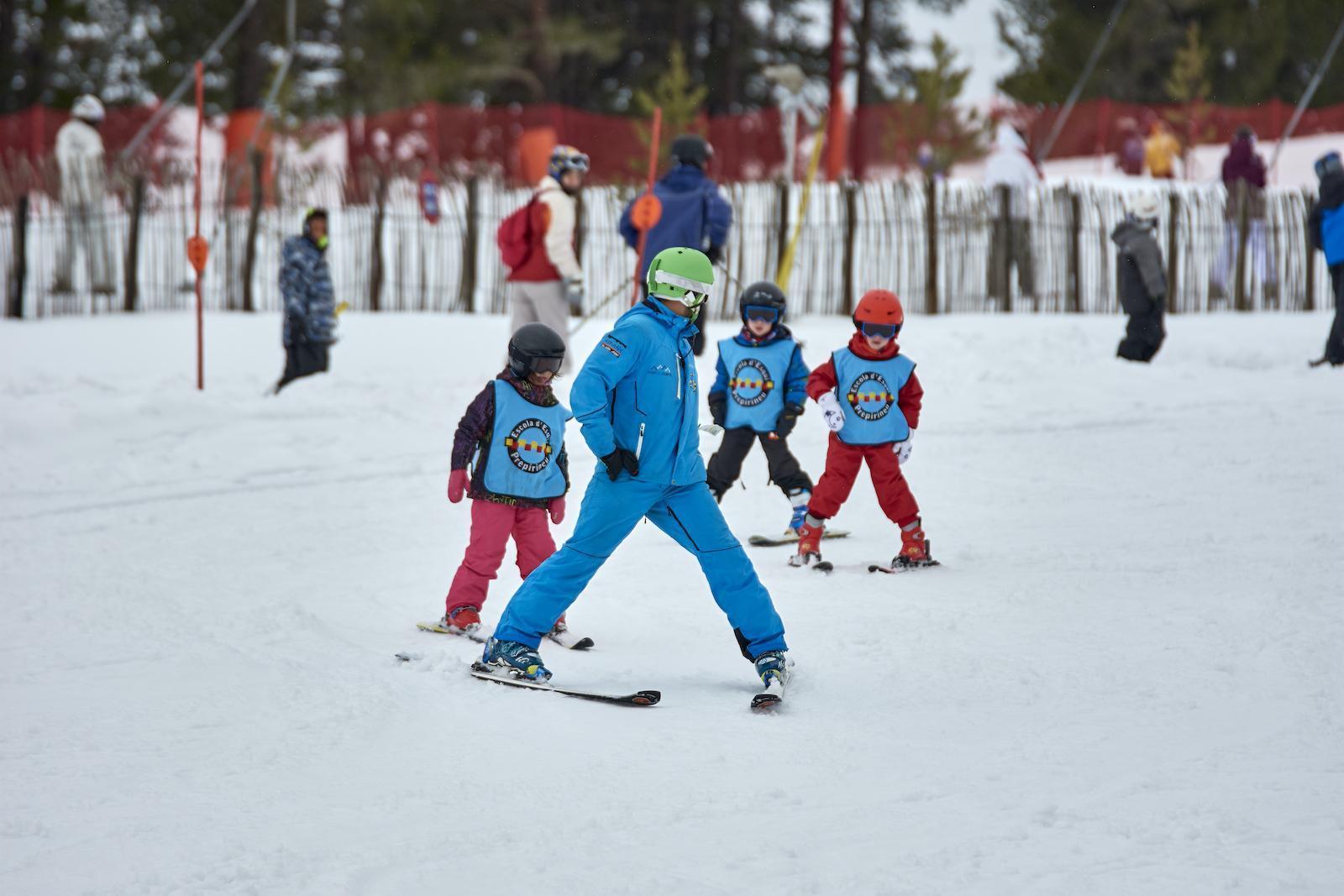 Bateig d'esquí Top a Port del Comte