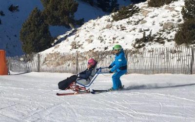 L'esquí adaptat a Port del Comte: dualski – pilotat